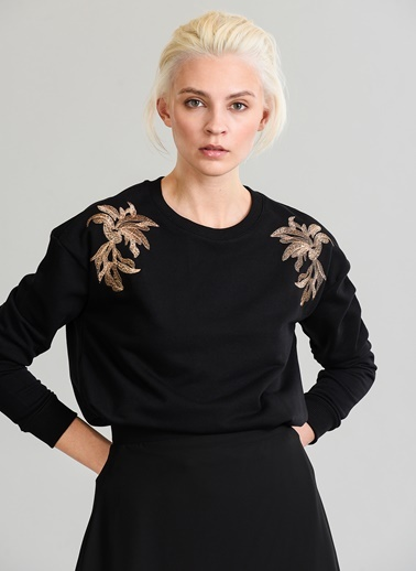 Nakışlı Sweatshirt-People By Fabrika